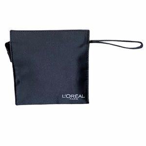 L'Oreal Paris Black Travel Cosmetic Pouch Bag
